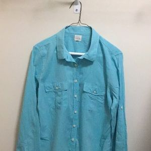 J.crew women large shirt